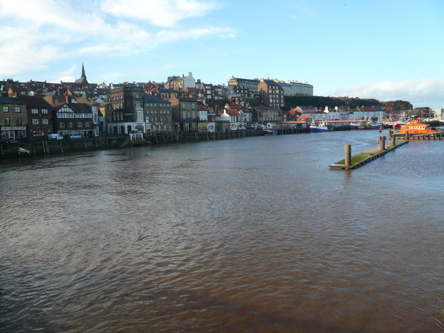 Whitby - Fish Quay and West Cliff View