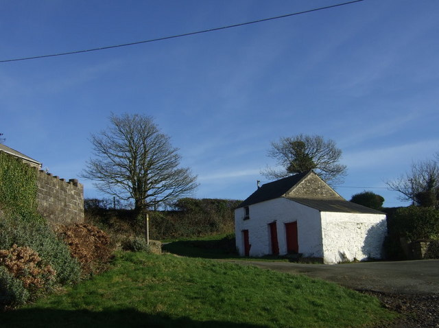 Old building at Trellan