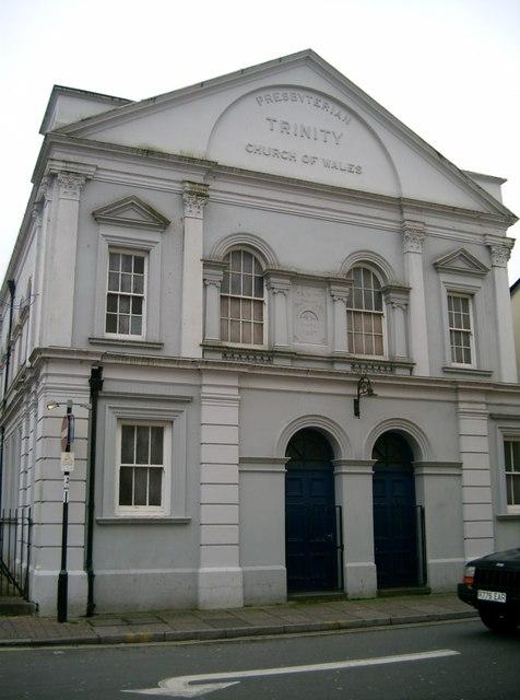 Trinity Chapel, Weatherall Street Aberdare