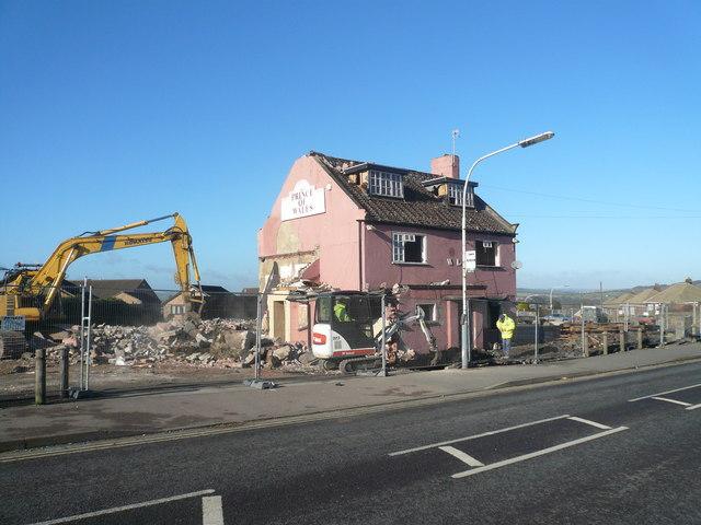 Brimington - Prince of Wales Demolition