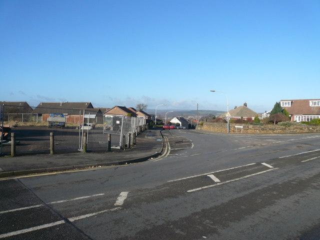 Brimington - Manor Road Junction with Cotterhill Lane