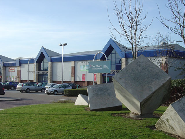 Castle Meadow Retail Park