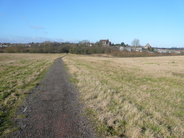 Netherthorpe School - Viewed from Country Park Footpath