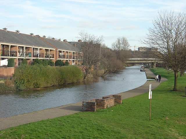 Nottingham Canal near Castle Marina