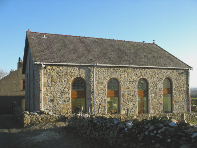 The former Capel Pisgah