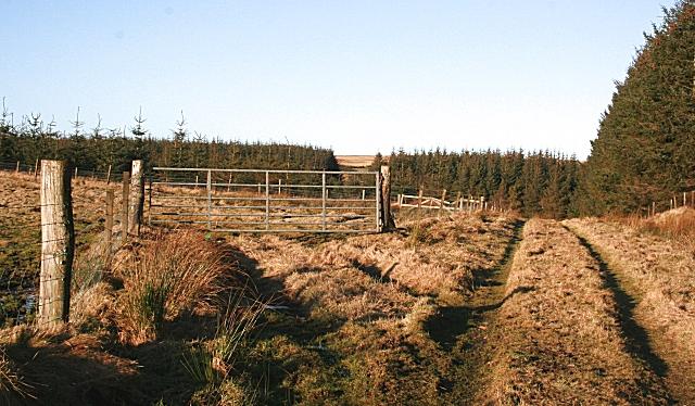 Where Balnacraig used to be