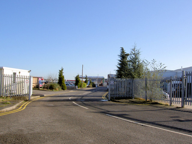Entrance to Tuxford Business Park