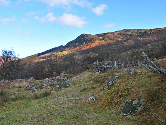 Old sheepfold in Fin Glen
