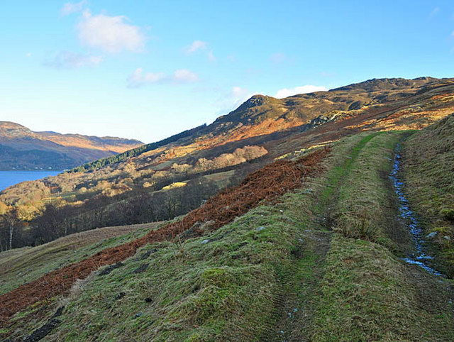 Hill track in Fin Glen