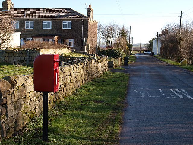 Postbox at Kilton Thorpe