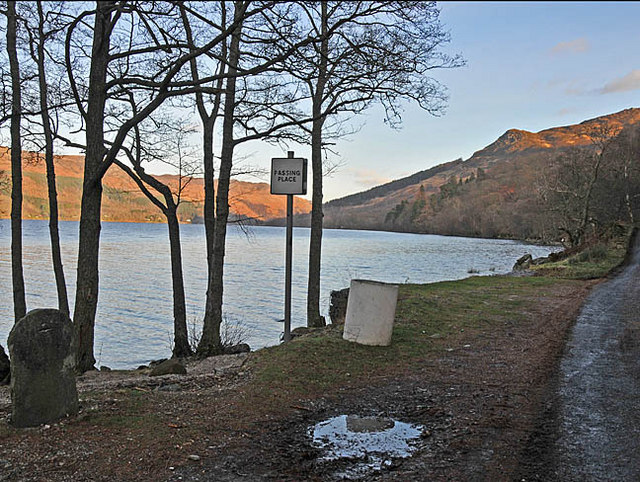 South shore of Loch Earn near Coillemhor