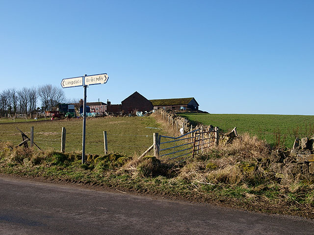 Farm buildings at Kilton Thorpe
