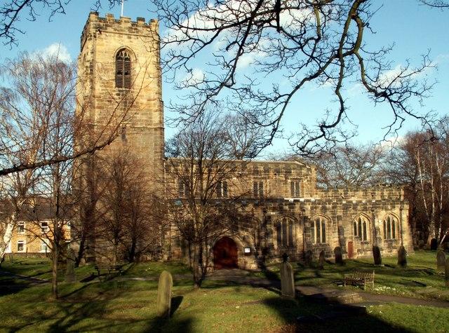 All Saints Church Darton
