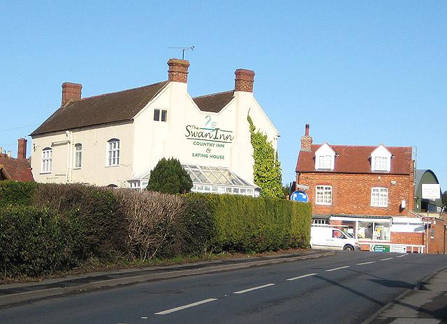 The Swan Inn at Staunton