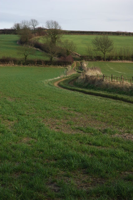 Farm track at Hidcote Boyce