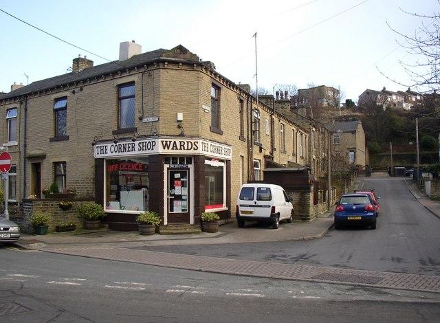 Corner Shop, Railway Street / Victoria Street, Rastrick