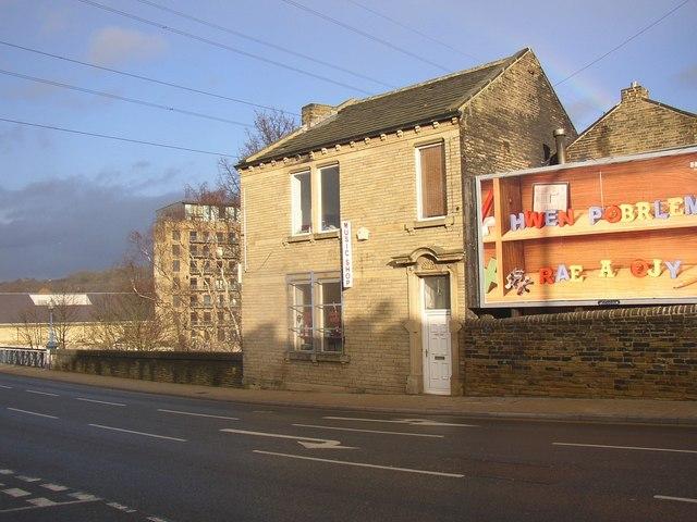 Music shop, Huddersfield Road, Rastrick