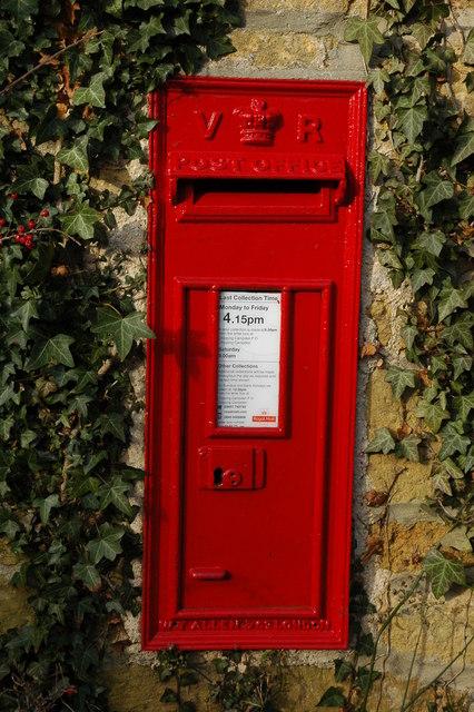 Post box in Hidcote Boyce