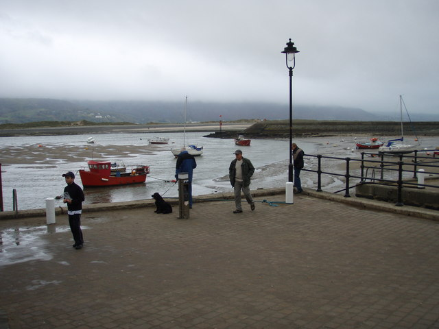 The quay and harbour entrance