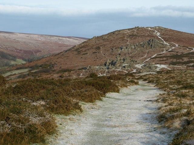 Track on Bonehill Down