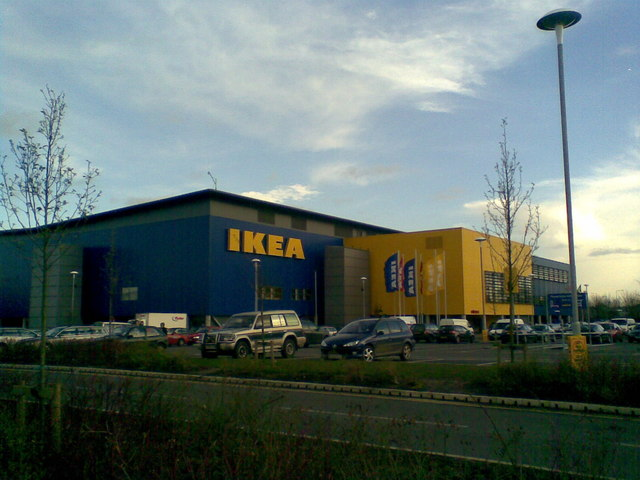 ikea milton keynes ian paterson geograph britain and. Black Bedroom Furniture Sets. Home Design Ideas