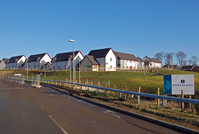 New housing in Portree