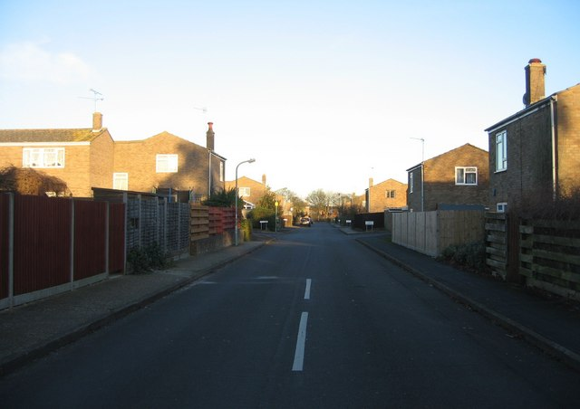 Looking down Woolford Way