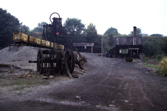 Racecourse Colliery 1986