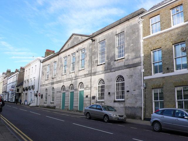 Shire Hall, High West St,  Dorchester