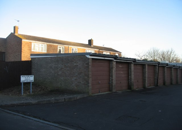 Woolford Way - garages (64 - 78)