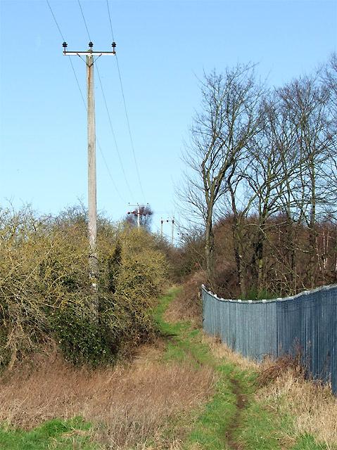Bridleway to Trysull, Staffordshire