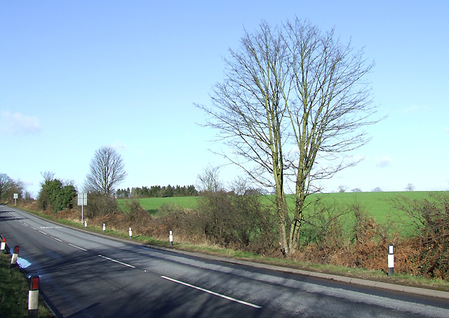 Farmland, and B4176 to Bridgnorth