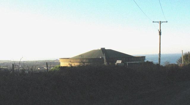 The Mynydd Nefyn covered reservoir