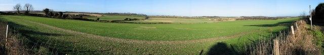 Panorama from Roman Way, Elvington
