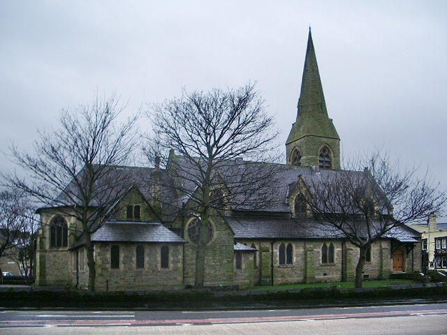 The Parish Church of St Andrew with St Margaret & Sr James, Burnley