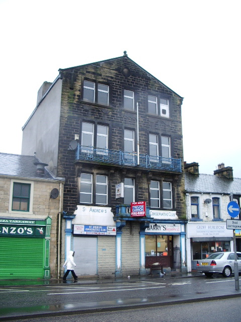 St Andrews Conservative Club, Colne Road, Burnley