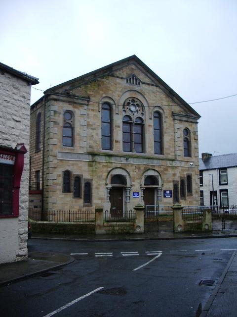 Old Methodist Chapel on Angle Street, Burnley