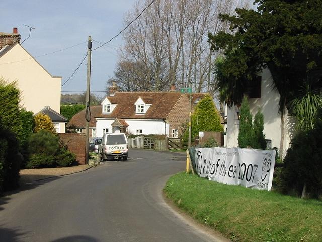 View of The Street, Finglesham