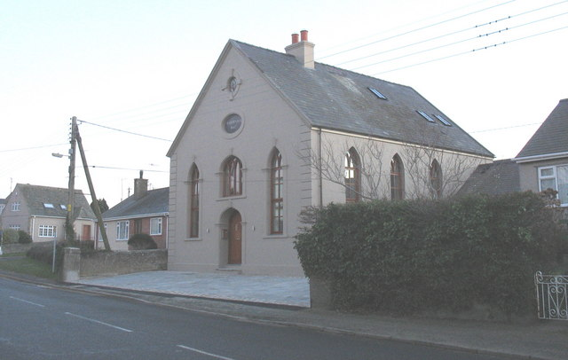The converted Capel Tabernacl