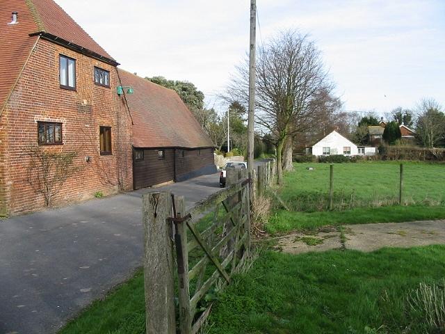 Converted barn on Marley Lane
