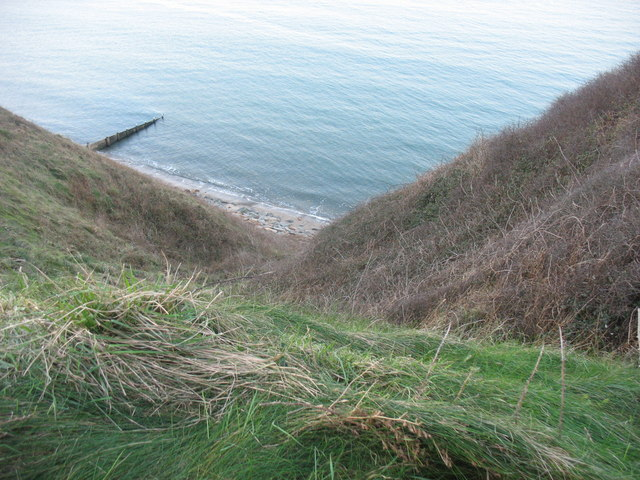 View from the clifftop