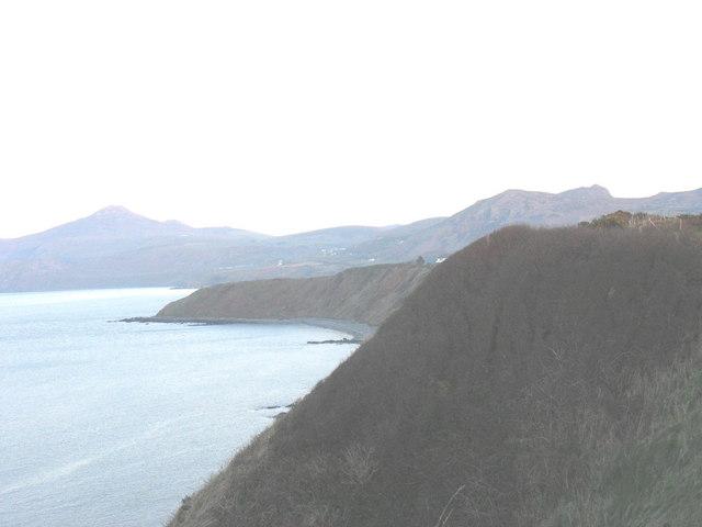View across to Penrhyn Nefyn point
