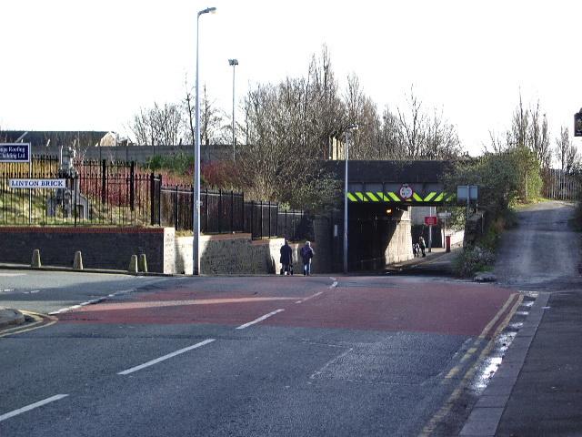 Railway bridge on Green Lane, Patricroft