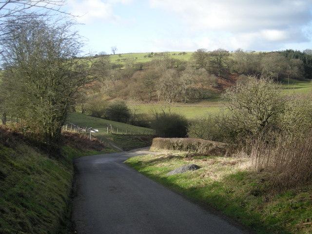 Sharp bend at Lower Edenhope