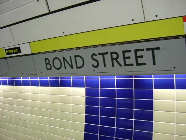 Bond Street station - Jubilee Line