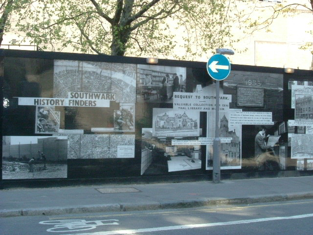 Southwark Art - Sumner Street