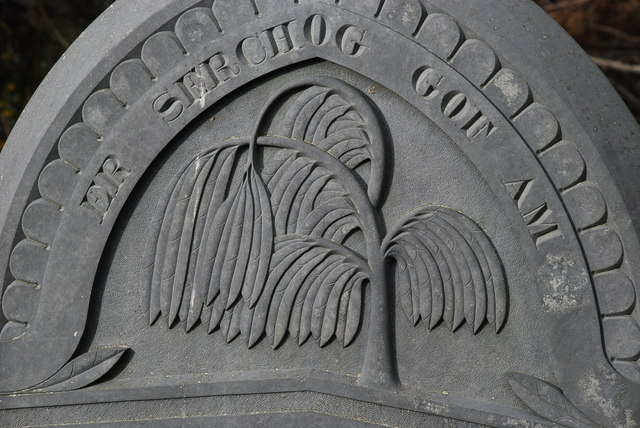 Carreg Fedd - Gravestone