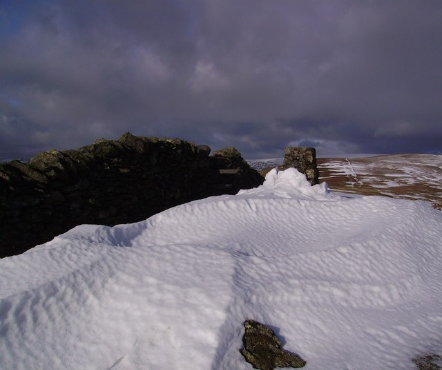 Drifted Snow, Kentmere Pike
