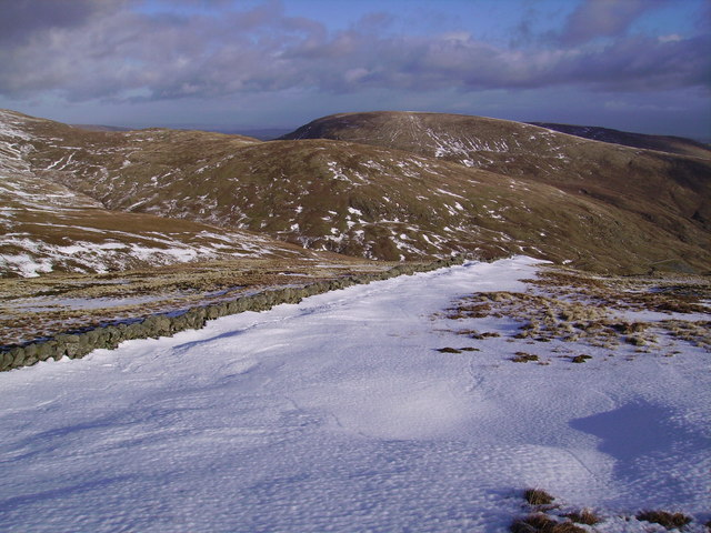 North East Flank of Kentmere Pike