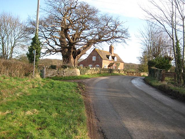 Cottage on a corner